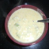 Slow Cooker Broccoli and Cheese Soup Recipe
