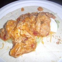 Slow Cooker Fiesta Chicken Soft Taco Recipe