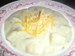 Double Thick Baked Potato Soup Slow Cooker Recipe