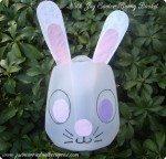 Milk Jug Easter Bunny Basket Kids Craft