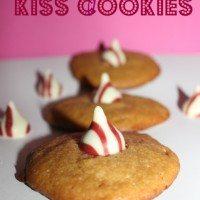 4 Ingredient Kiss Cookies Recipe
