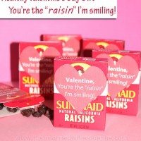 Printable Valentine's Day Craft: You're The Raisin