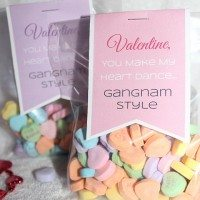 Printable Valentine's Day Craft: Gangnam Style