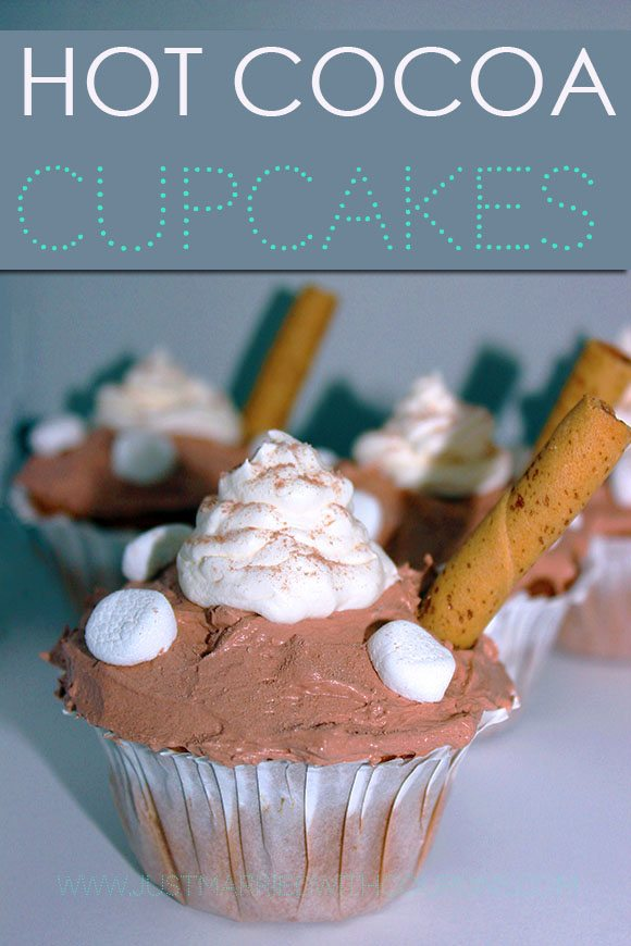 Hot Cocoa Cupcakes Recipe Made with #CoolWhipFrosting