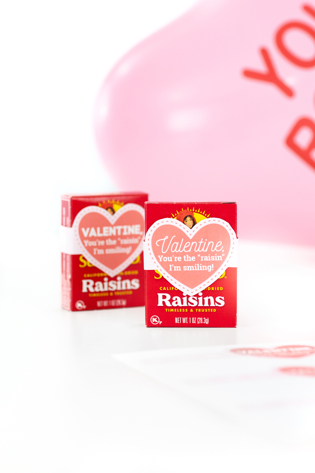 Raisin Valentine