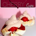 3 Ingredient Chocolate Cherry Cups #Recipe #Desserts