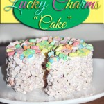 Lucky Charms Cake #StPatricksDay #Recipe