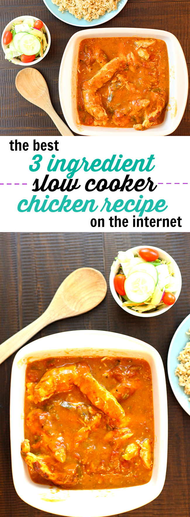 Are you an easy slow cooker recipe fiend like I am? This is a MUST try.