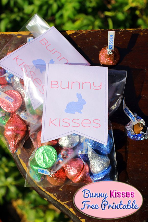 Bunny Kisses #Easter #Printable