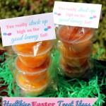 Healthier Easter Treat Ideas and Free #Printable #Easter Bag Topper