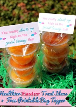 Healthier Easter Treat Ideas and Free Printable