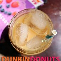 DunkinDonuts Iced Coffee #Recipe