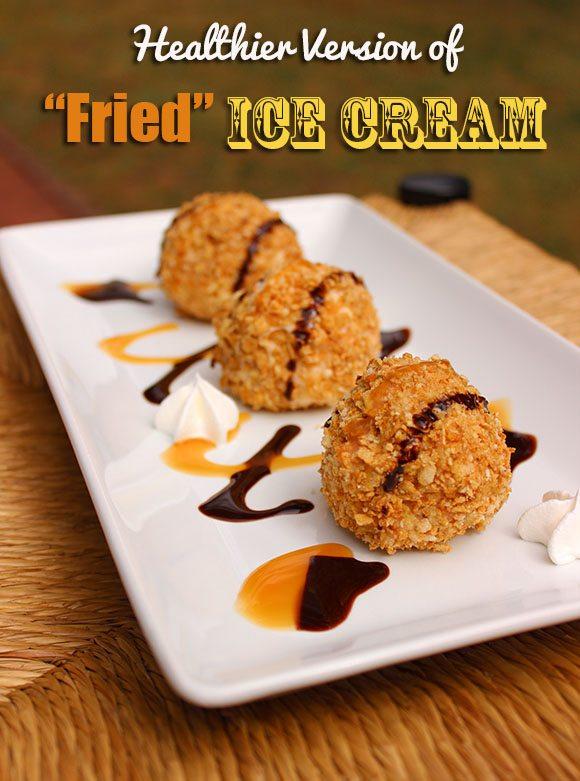 Healthier Version of Fried IceCream