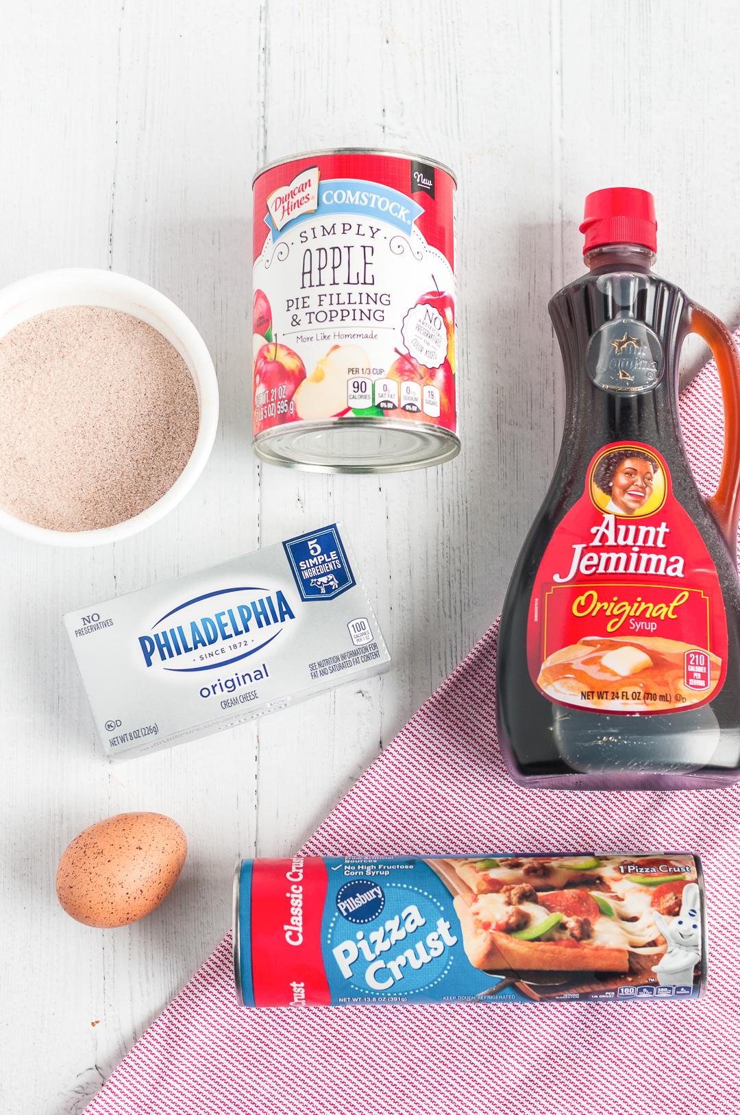 apple toast pizza ingredients