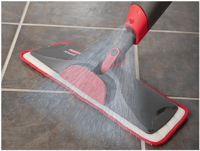 Cleaning With Rubbermaid Reveal Spray Mop Is Freeing