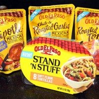 Kid Friendly Taco Night with Old El Paso® Stand 'N Stuff® + Giveaway