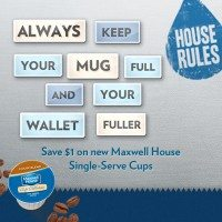 Good Coffee Shouldn't Cost a Fortune: Save $1 on Maxwell House Single Serve Cups