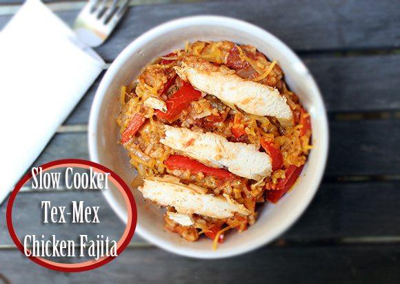 Slow Cooker Tex Mex Chicken Fajita #recipe #kraftrecipemakers #shop