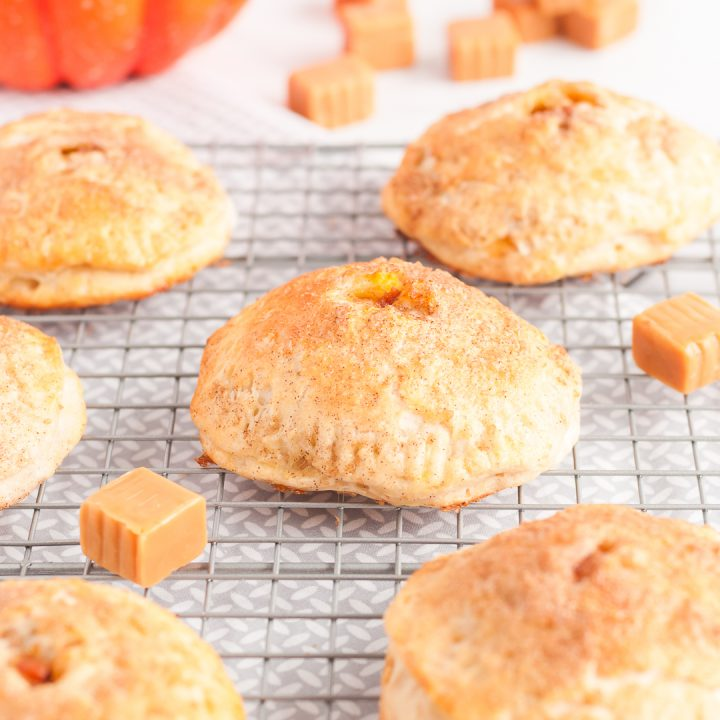 "Simple Caramel Pumpkin Mini ""Pies"" Recipe"