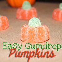 Easy DIY Gumdrop Pumpkins