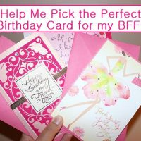 Help Me Pick the Perfect Hallmark Birthday Card for My BFF #BirthdaySmiles