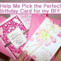 Help Me Pick the Perfect Hallmark Birthday Card for My BFF #BirthdaySmiles