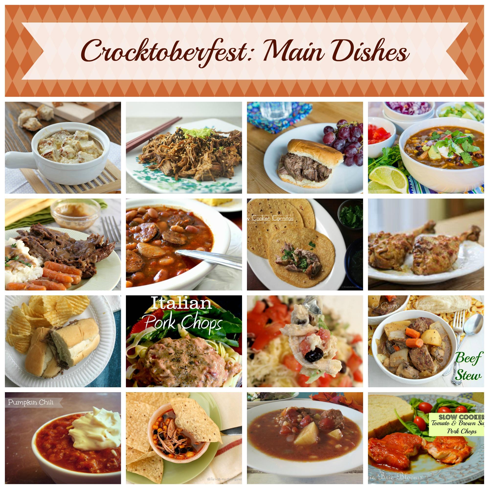 Slow Cooker Recipes #Crocktoberfest2013