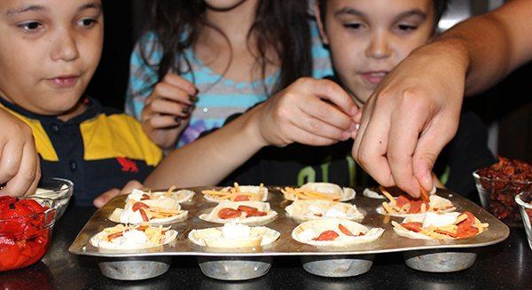 Easy Pizza Cups #Recipe #WorldMarket