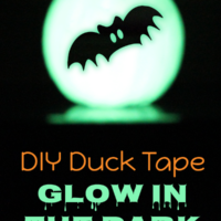 Duck Tape® DIY Glow Pumpkin