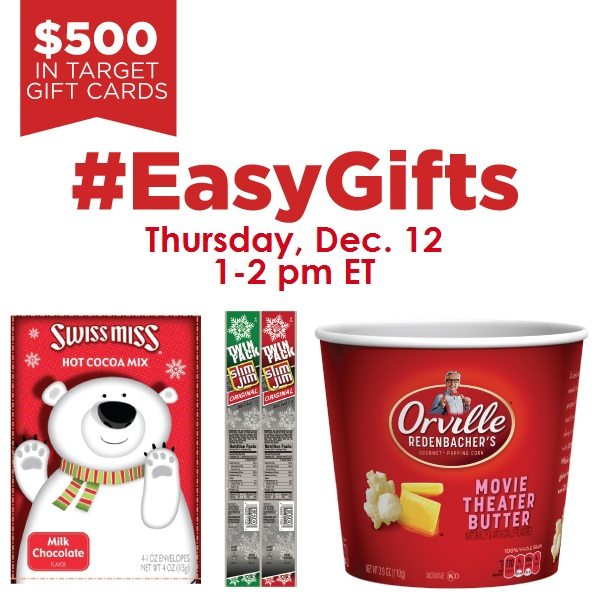 #EasyGifts Twitter Party #shop #cbias