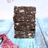 No Bake Dark Chocolate Ritz Bars Recipe