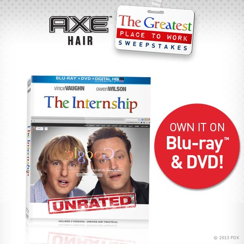 Walmart, Axe, The Internship #ad