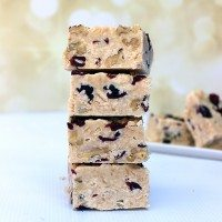 Holiday Hacks: No Bake Cranberry Nut Cookie Bars