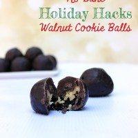 Holiday Hacks: No Bake Walnut Cookie Balls Recipe