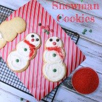 Nestle Countdown to the Holidays: Cookies for Santa, Snowmen & Mitten Template