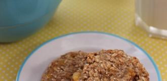 2 Ingredient Oatmeal Banana Cookie Recipe