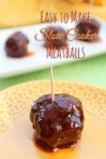 Easy Slow Cooker Meatballs Recipe