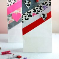 How To Make Duck Tape Gift Bags and Hearts for Valentine's Day #DuckValentine