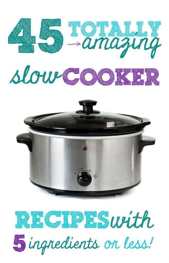 slow cooker recipes with 5 ingredients