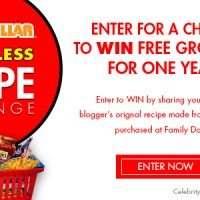 Stay Tuned! $15 Recipe Challenge & Years' Worth of Groceries Sweepstakes from Family Dollar #FamilyDollarMore4Less