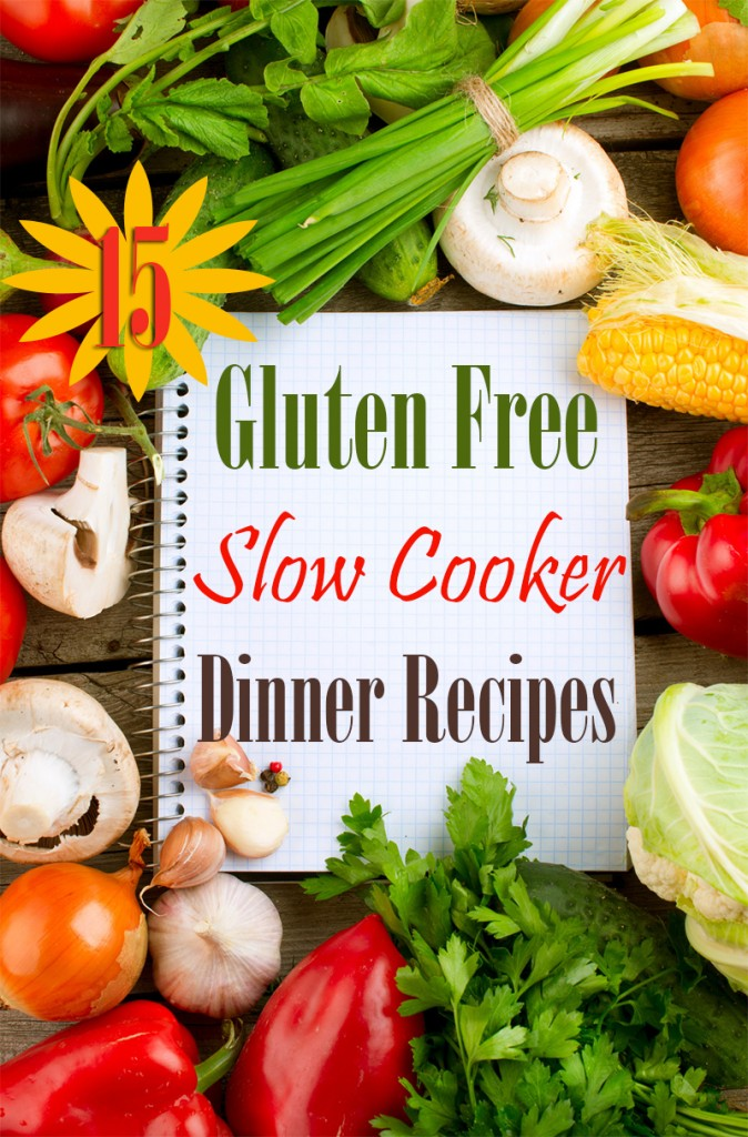 Get 15 delicious gluten free recipes for your slow cooker!