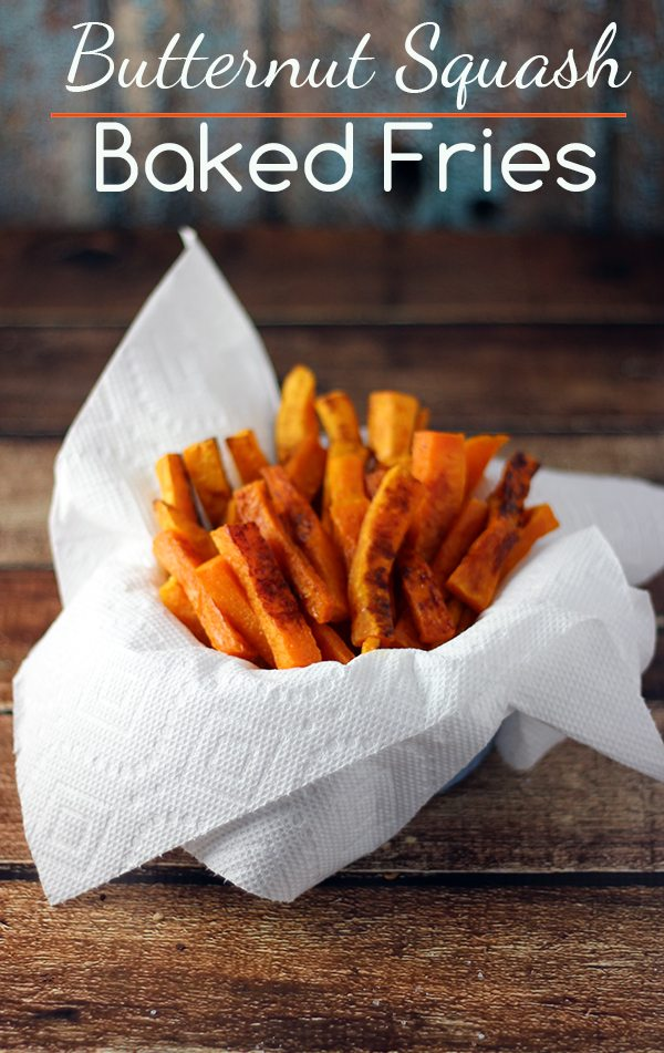 You have to try these Butternut Squash Fries with Sea Salt. Delish! # ...