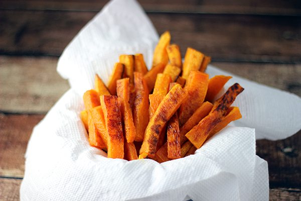 fried food but these butternut squash baked fries take better for you ...