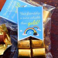 Free Printable St. Patrick's Day Gift Bag Tags #stpatricksday