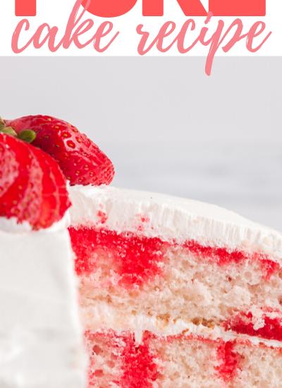 strawberry poke cake