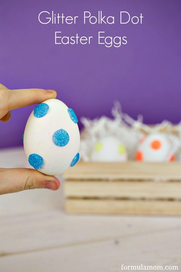 Glitter-Polka-Dot-Easter-Eggs