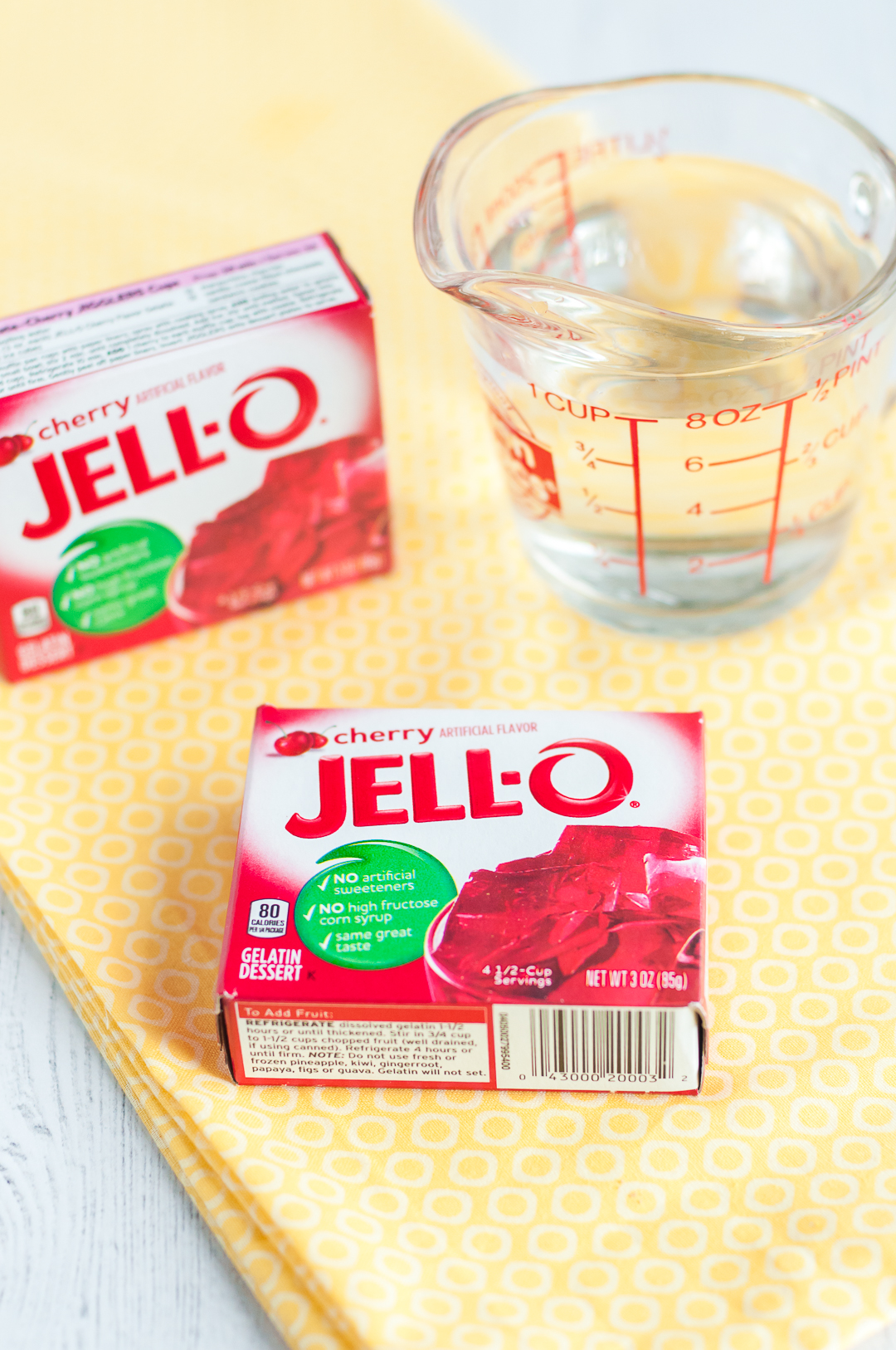 Cherry Jello Boxes