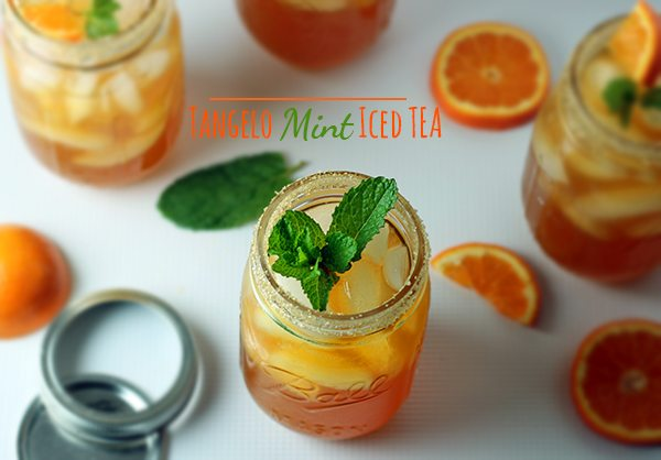 Tangelo Mint Iced Tea Recipe
