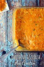 Easy Butternut Squash Au Gratin Recipe & Create Your #WeekNightKitchen with GE Appliances