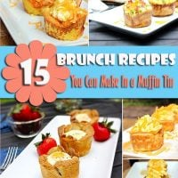 15 Delicious Brunch Recipes You Can Make in a Muffin Tin! #brunch #recipes